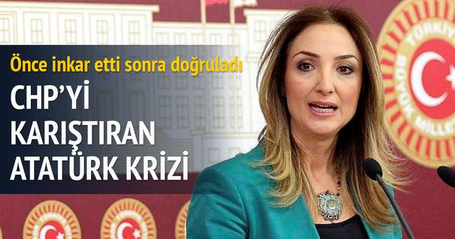 CHP'yi karıştıran Atatürk krizi