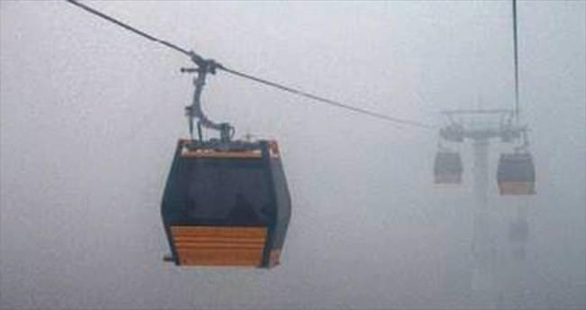 Başkentte hava bugün de sisli
