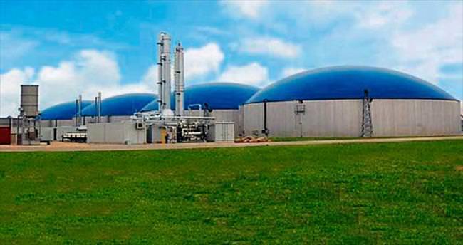 Gaziantep biyogaz enerji tesisi kuruyor