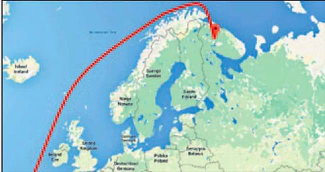 Avrupa ve Türkiye kapıyı kapattı Rus uçakları Akdeniz'i dolaştı