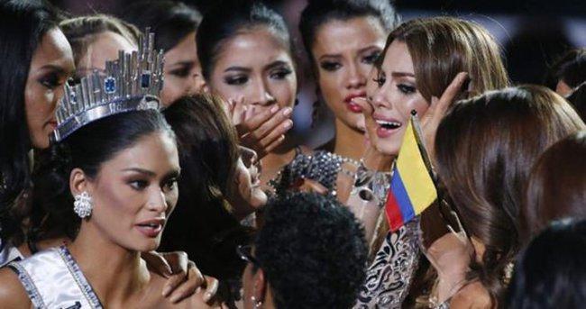 Güzellik yarışmasındaki skandal ağlattı