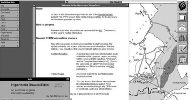 İlk web sitesi 25 yaşında!