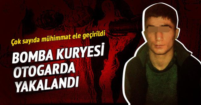 PKK'nın bomba kuryesi otogarda yakalandı