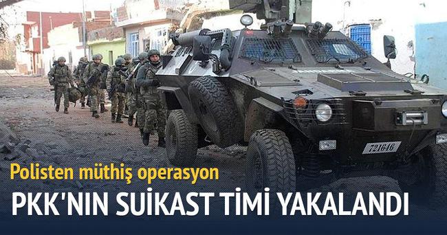 Diyarbakır'da müthiş PKK operasyonu