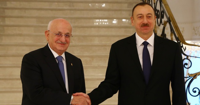 TBMM Başkanı Azerbaycan'da