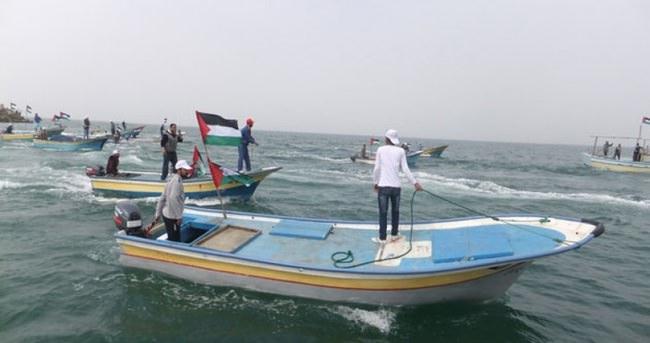 İsrail'in Filistinli balıkçılara yönelik gözaltıları