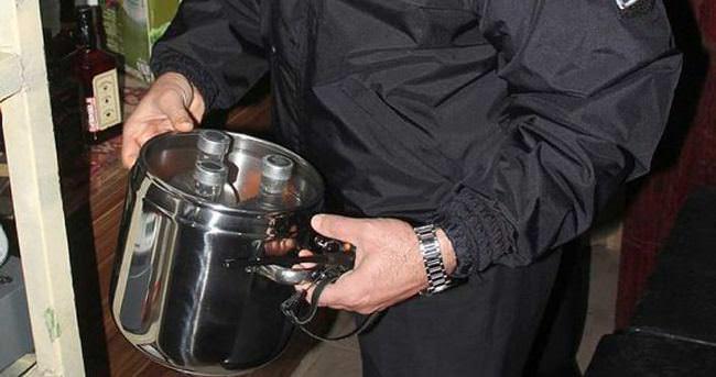 Adana'da sahte içki operasyonu: 10 gözaltı