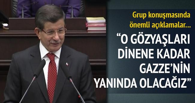 Başbakan Davutoğlu gündemi değerlendirdi!