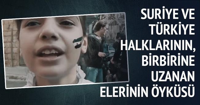 Suriye ve Türkiye halklarının birbirine uzanan ellerinin öyküsü