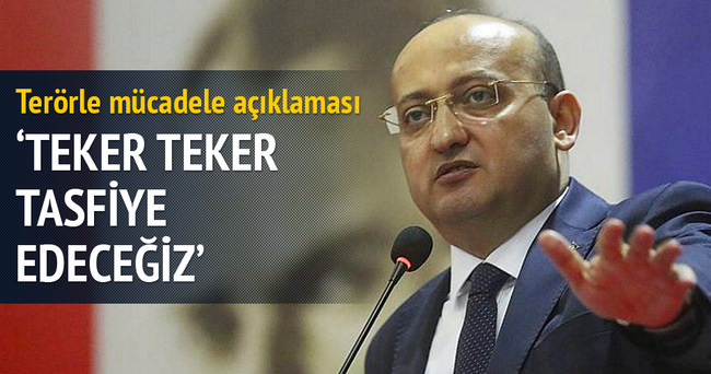 Yalçın Akdoğan: Teker teker tasfiye edeceğiz