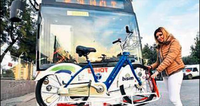 Bisikletli otobüs dönemi başlıyor