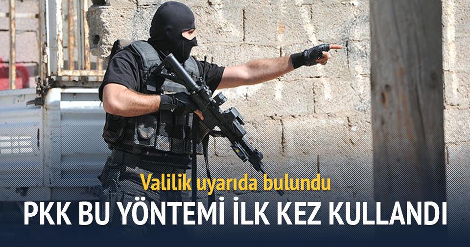 PKK'lılar bombaları futbol topuyla atıyor