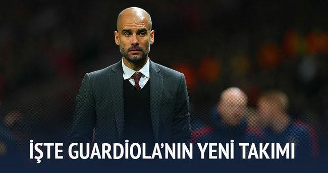 Guardiola Manchester City'de
