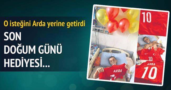 Arda'dan Ahmet'e, son doğum günü hediyesi...