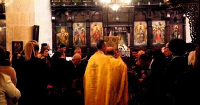 Noel'de barış için dua ettiler