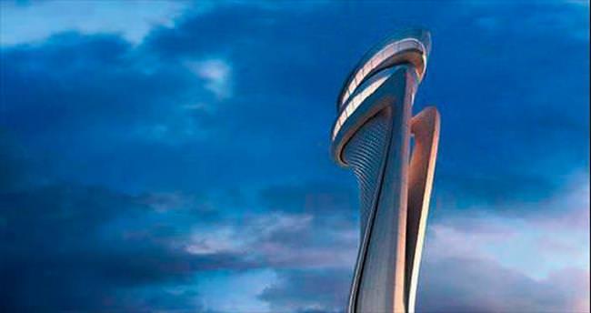 3'üncü Havalimanı'na laleli kule yapılacak
