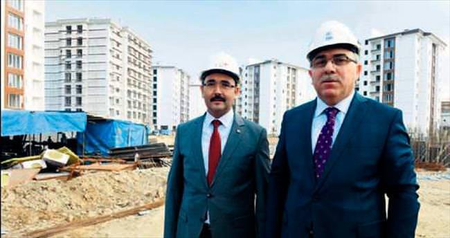 Yeni Uşak'ın kent merkezi doğuyor
