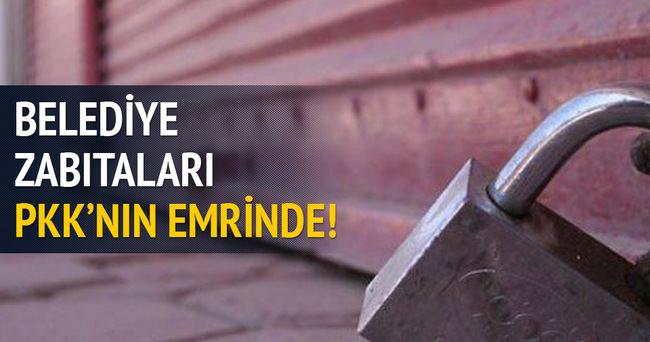 Diyarbakır'da zabıta PKK'nın emrinde