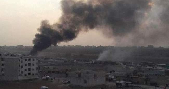 Rus savaş uçakları Azez'e saldırdı