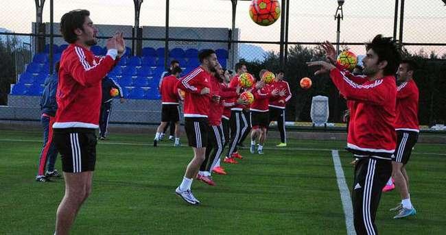 Gaziantepspor, Antalyaspor maçına hazır