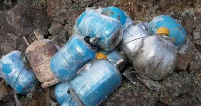 Hatay'da PKK'ya ait 80 kilo patlayıcı ele geçirildi