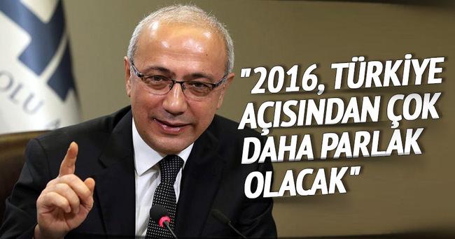2016, Türkiye açısından çok daha parlak olacak