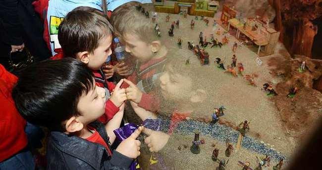 Minikler Oyuncak Müzesi'nden ayrılmak istemedi