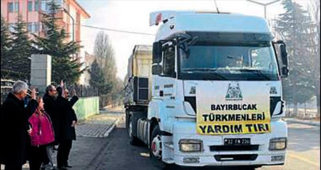 Bayırbucak'a 22 ton kömür