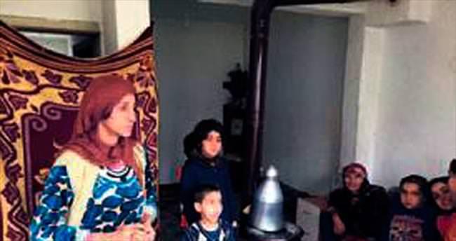 Suriyeli Fetiha'nın 9 çocukla yaşam savaşı