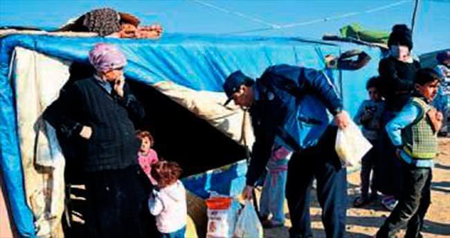 Suriyeli sığınmacılar için kış seferberliği