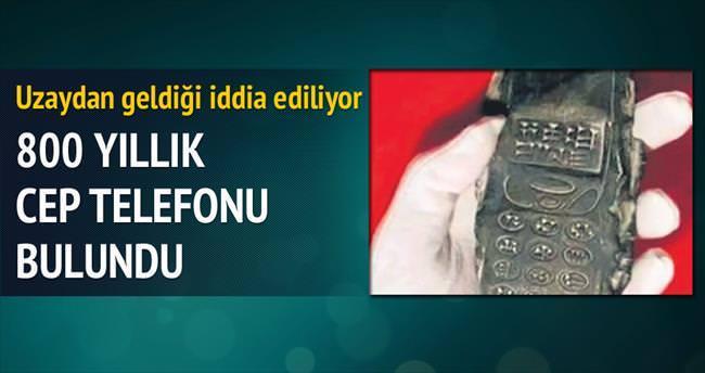 13. yüzyıldan telefon geldi!