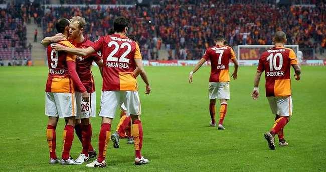 Galatasaray deplasmanda kayıp