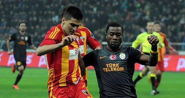 Kayserispor - Galatasaray maçı ne zaman saat kaçta?