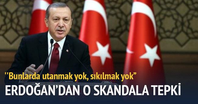 Erdoğan: Bunlarda utanmak yok, sıkılma yok