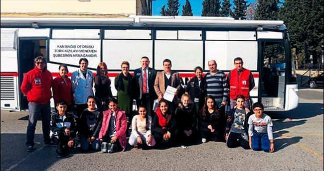 Karabağlar'da kan bağışı projesine katkı
