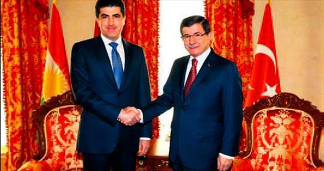 Barzani devletin zirvesiyle görüştü