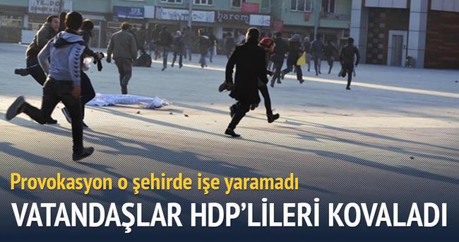Niğdeliler HDP'lileri böyle kovaladı