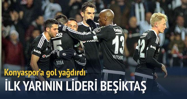 Beşiktaş ilk yarıyı lider tamamladı