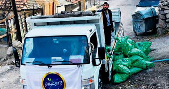 Büyükşehir'den dar gelirli ailelere kömür yardımı