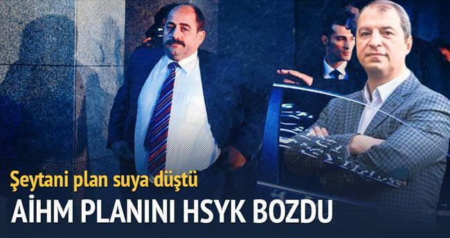 Firari savcıların AİHM planını HSYK bozdu
