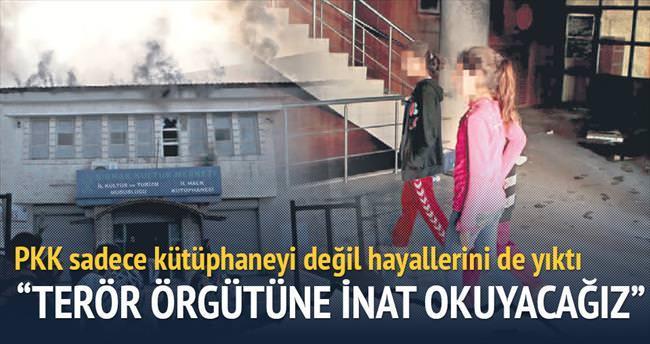 Hayallerini PKK yaktı