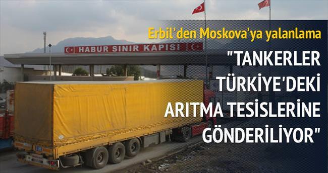 Erbil'den Moskova'ya DAEŞ petrolü yalanlaması