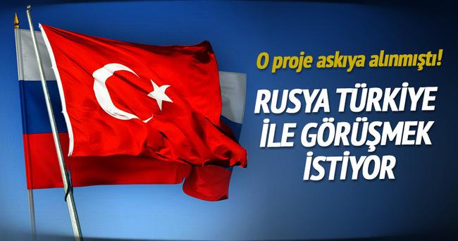 Rusya, Türk Akımı görüşmelerine devam etmek istiyor