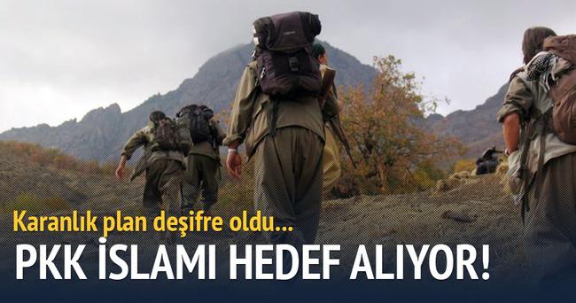 PKK İslam'ı hedef alıyor