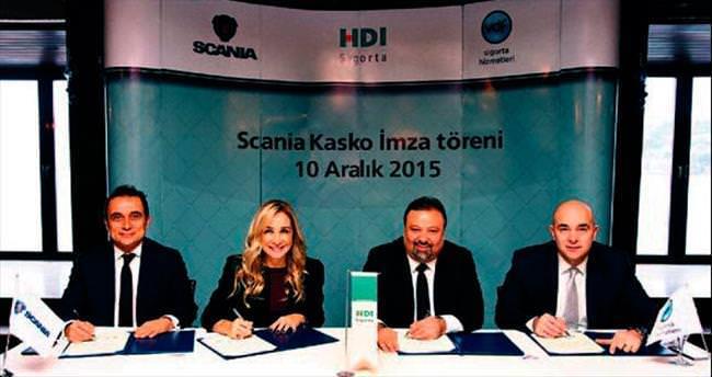 Scania ve HDI özel kasko anlaşması imzaladı