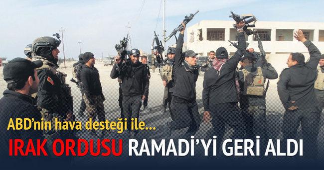 Irak ordusu Ramadi'yi geri aldı