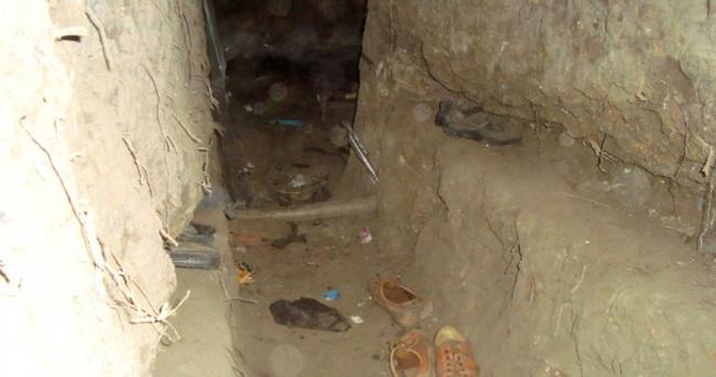 Bingöl'de terör örgütüne ait 4 sığınak bulundu