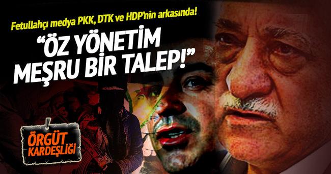 Fetullahçı medya PKK, DTK ve HDP'nin arkasında!