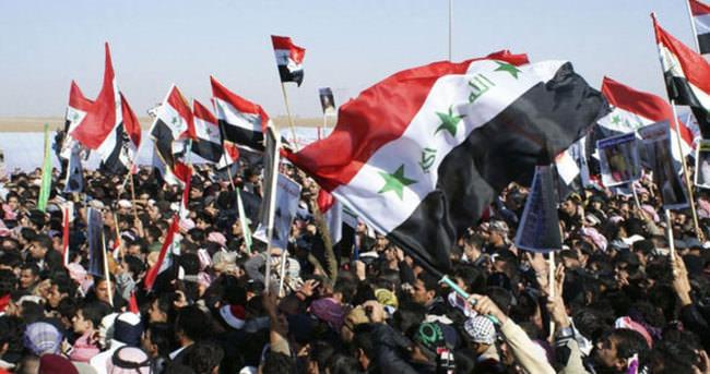 Irak'ta maaş protestosu