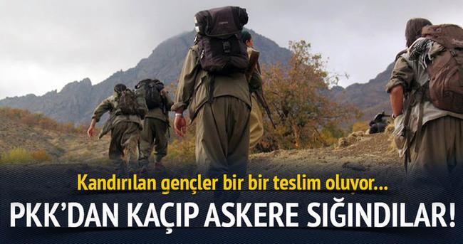YDG-H'liler PKK'dan kaçıp askere sığındı